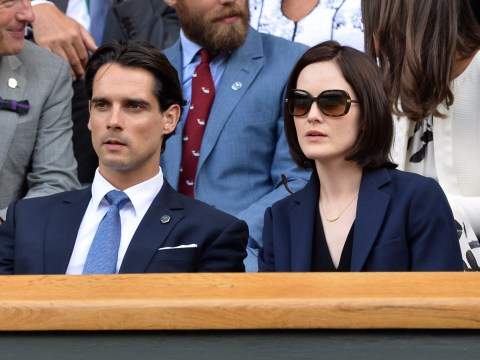 Michelle Dockery thanks family for support following her fiance's death