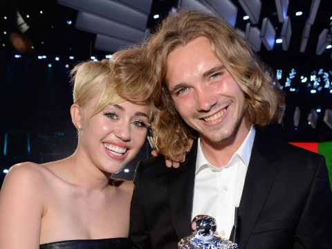 The homeless guy who accepted Miley's VMA has put it on eBay to raise funds for his baby
