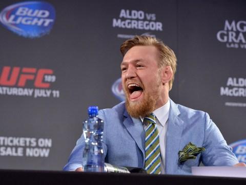 UFC star Conor McGregor destroys WWE in 28 words