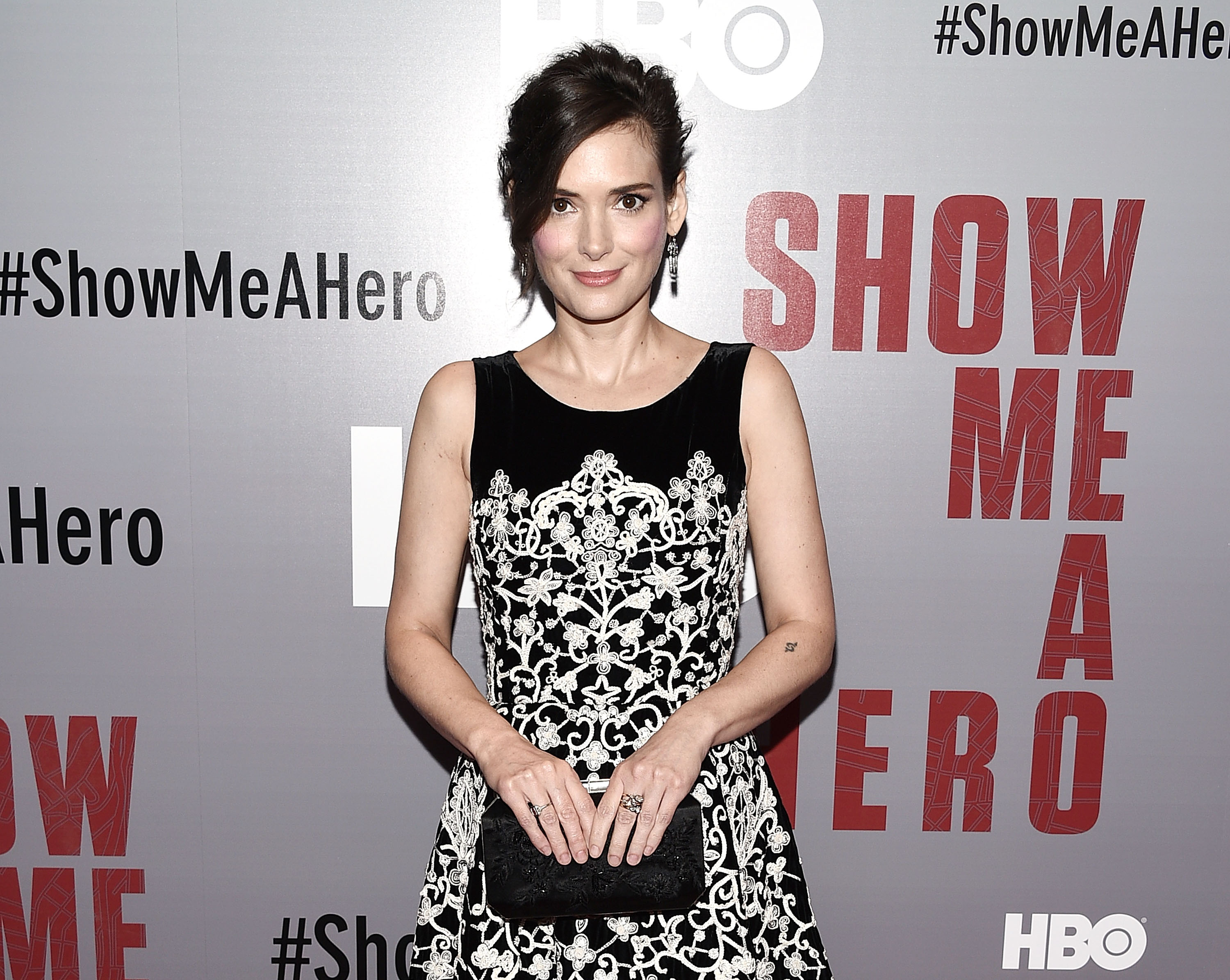 Winona Ryder seems a little bummed out that she has lost her stalker (Picture: Andrew H. Walker/Getty Images)
