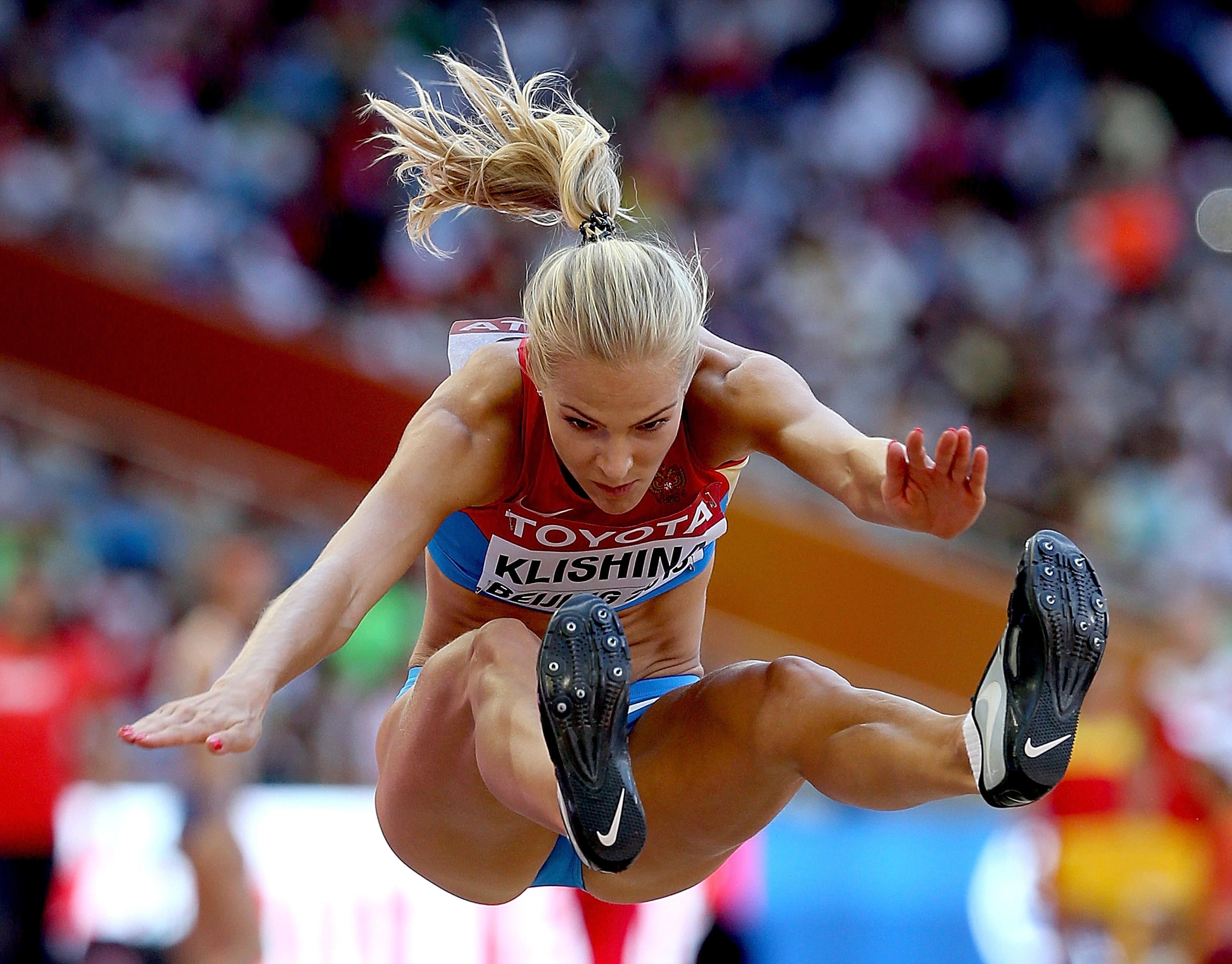 Darya Klishina, Russia's only track and field representative at the 2016 Rio Olympics, has been suspended