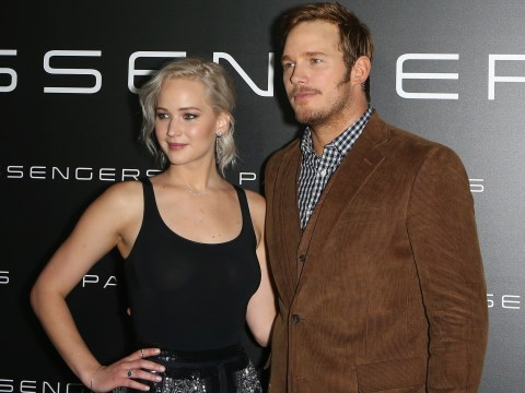 Jennifer Lawrence and Chris Pratt get up close and personal in new Passengers trailer