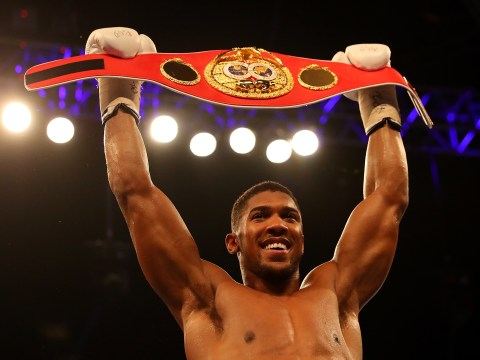 Anthony Joshua to defend IBF world heavyweight title on November 26, confirms Eddie Hearn