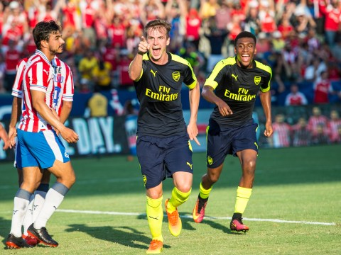 Arsenal boss Arsene Wenger backs Rob Holding to cope with Premier League demands ahead of possible start against Liverpool