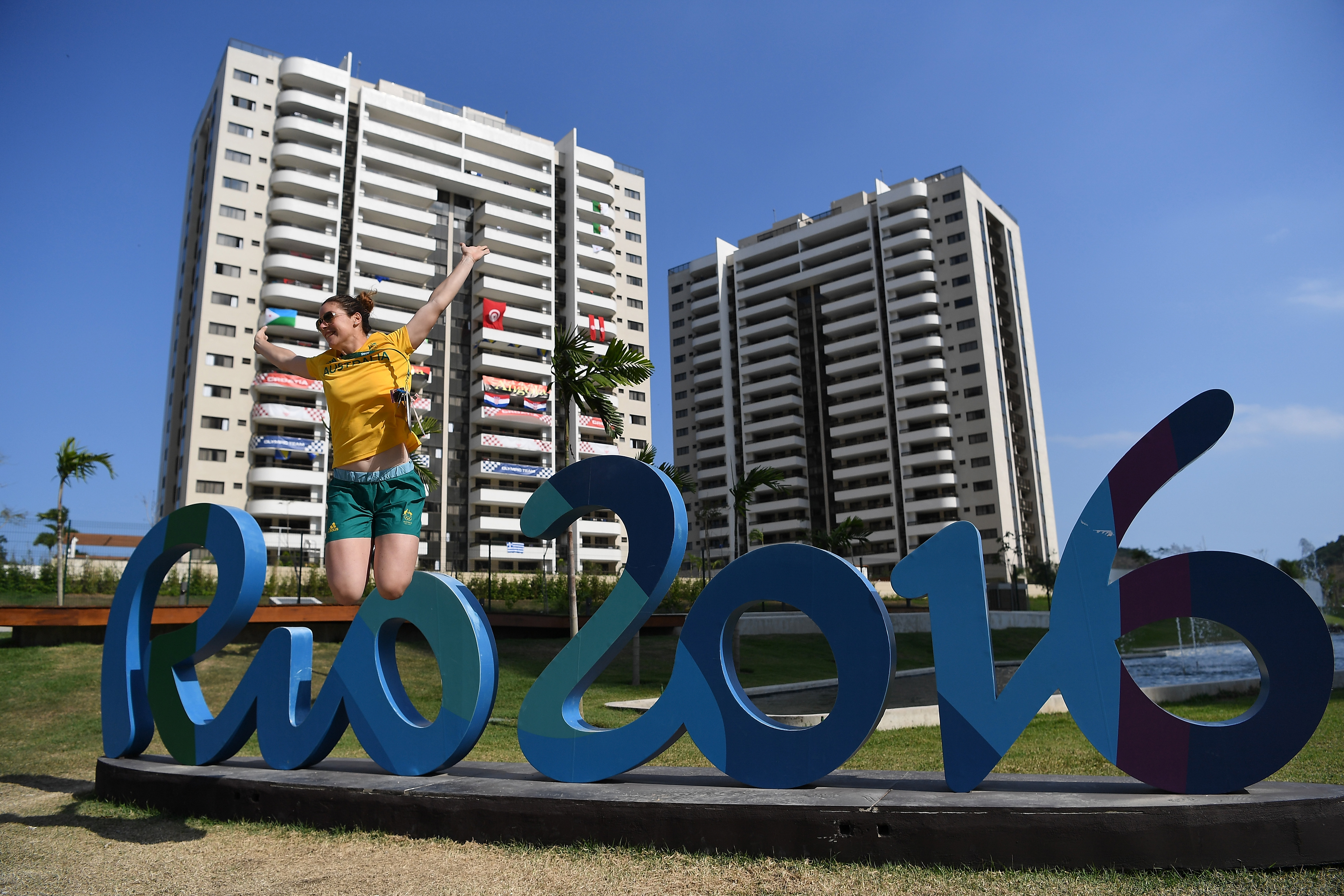 RIO DE JANEIRO, BRAZIL - AUGUST 04: Athlete of the Australia team Rio 2016 Olympic games, Carry McMahon is seen in the Athletes village on August 4, 2016 in Rio de Janeiro, Brazil. (Photo by Pascal Le Segretain/Getty Images)