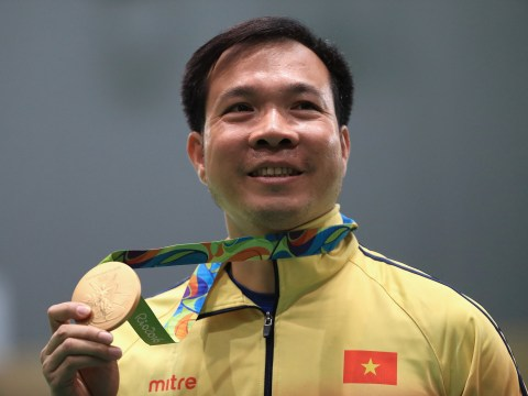 Vinh Xuan Hoang makes history at 2016 Rio Olympics by winning Vietnam's first ever gold medal