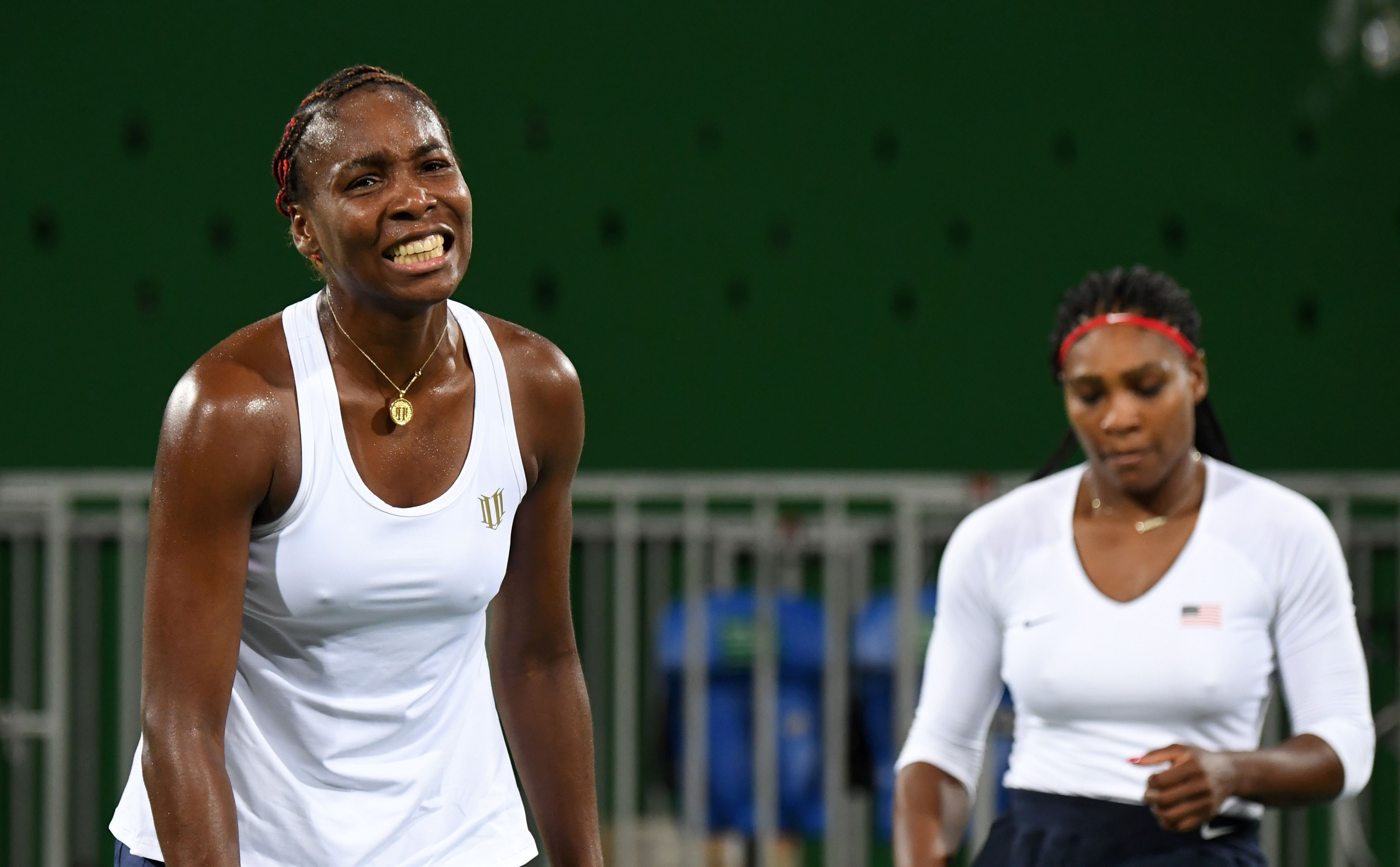 Serena Williams gives very honest assessment as she and Venus lose FIRST EVER Olympics doubles match to crash out in Rio