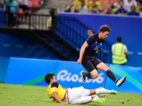 New Arsenal recruit Takuma Asano continues excellent form at Rio Olympics for Japan