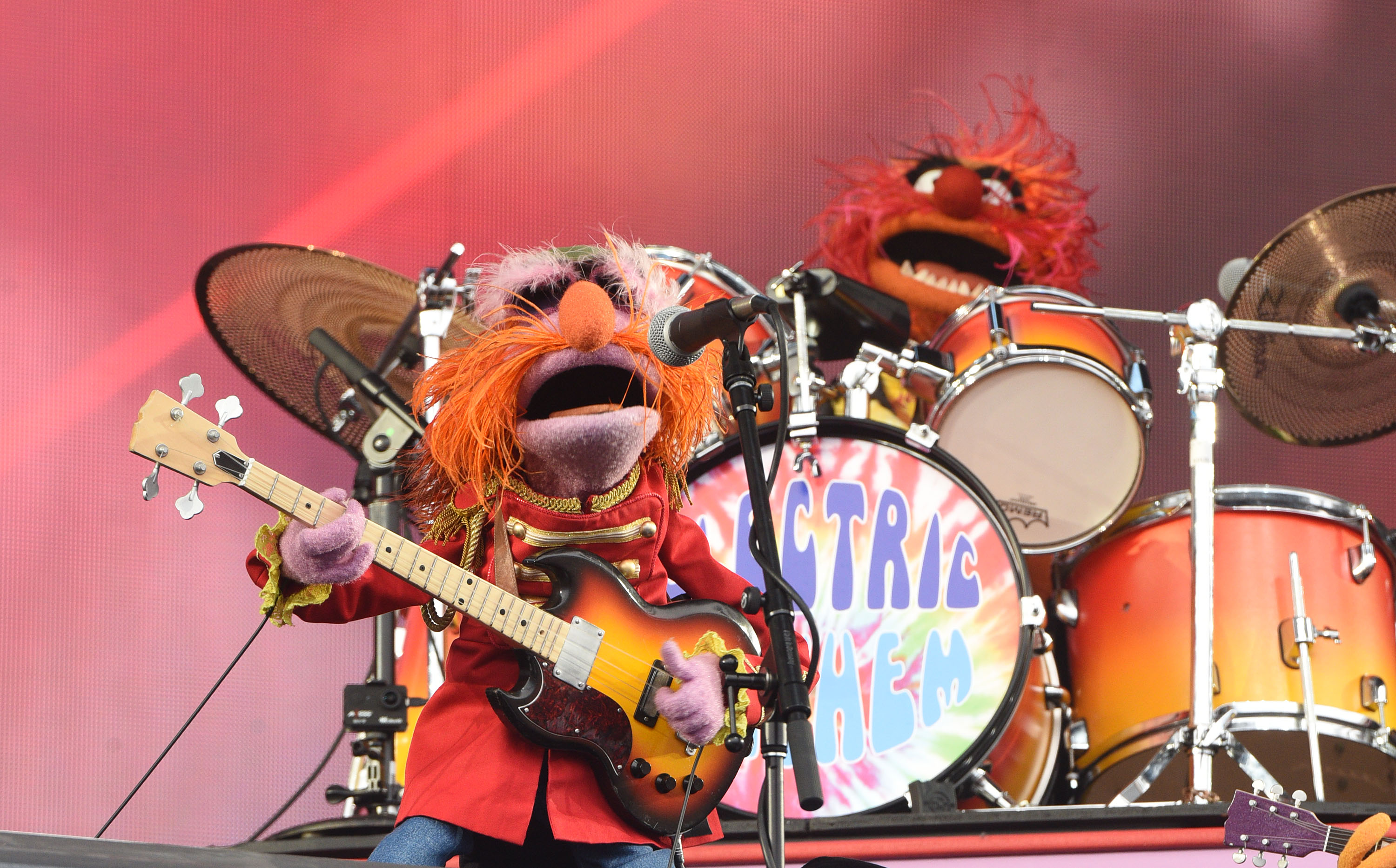WATCH: The Muppets' house band performed live for the first time ever and it's incredible