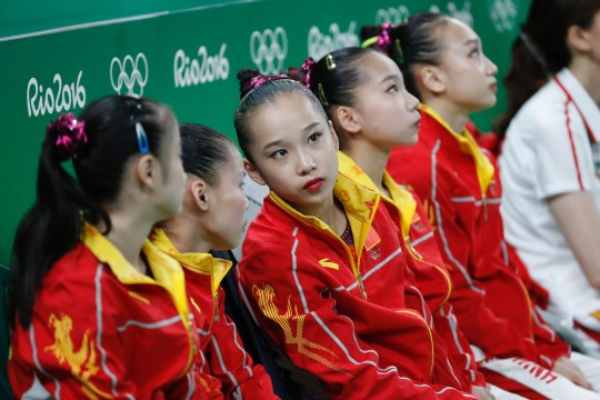 Rio 2016 Olympics: How old are the Chinese gymnastics team?   Metro News