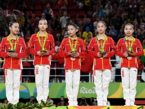 People do not believe the Chinese Olympic gymnast team were old enough to compete at Rio 2016