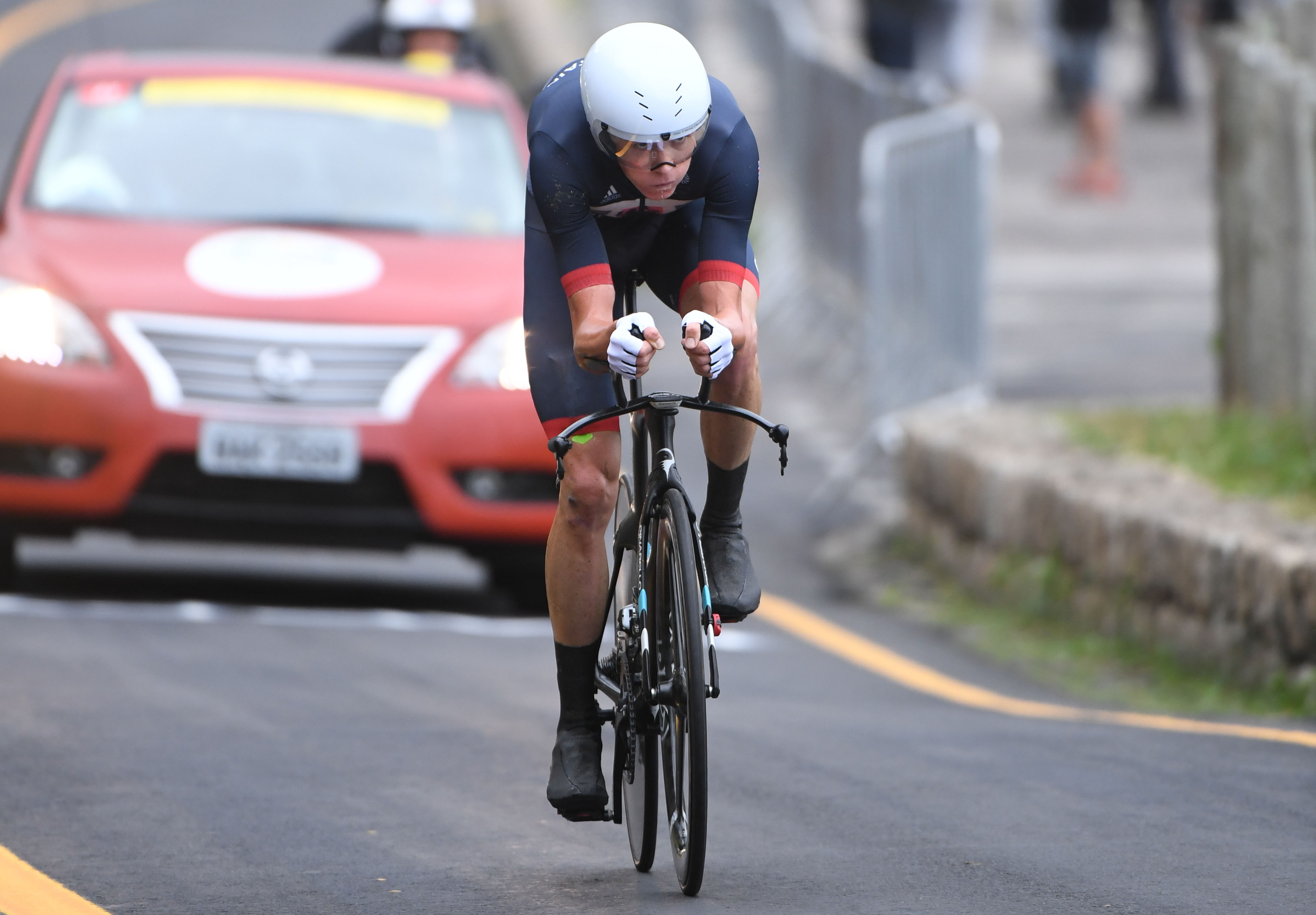 Chris Froome takes bronze in men's time trial as Fabian Cancellara wins gold