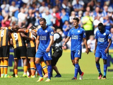 Leicester City already missing N'Golo Kante in shock 2-1 defeat to Hull City