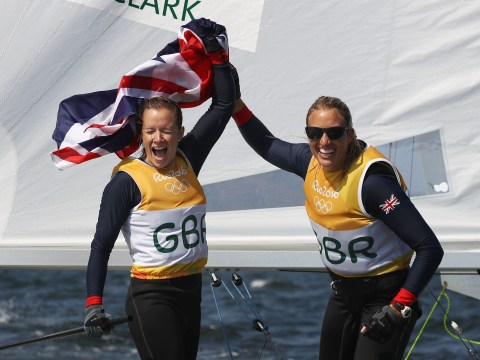 Gold medal confirmed at last for Team GB's Hannah Mills and Saskia Clark