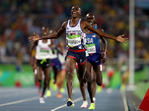 Rio 2016 Olympics: Mo Farah completes the 'double double' with stunning victory in the 5000m