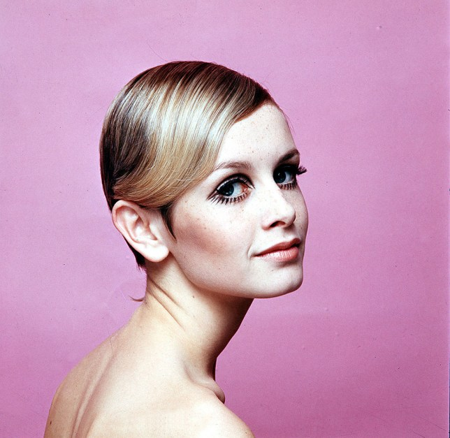 1967, Modelling, A portrait of British model Twiggy wearing black mascara (Photo by Popperfoto/Getty Images)