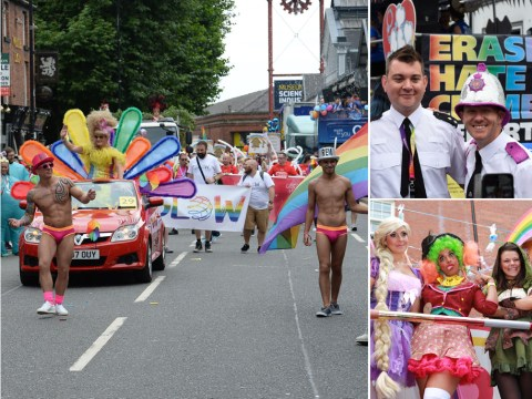 Thousands line the streets of Manchester for Pride