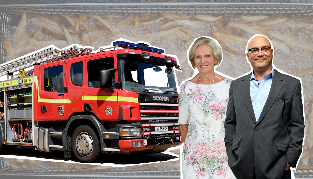 London Fire Brigade wade in to Mary Berry and Gregg Wallace's deep-fat fryer debate