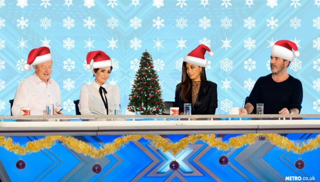 Everybody's decided that as The X Factor is back, it's basically Christmas Credit: PA/Getty Images