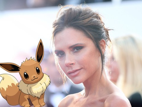 Victoria Beckham has joined the Pokemon Go craze