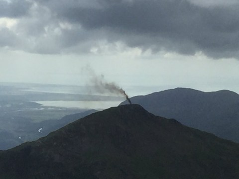 RAF helicopter with four people on board crash lands in Snowdonia