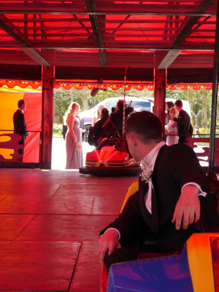 Don't Tell The Bride: Tears for this bride as she gets married in a DODGEM