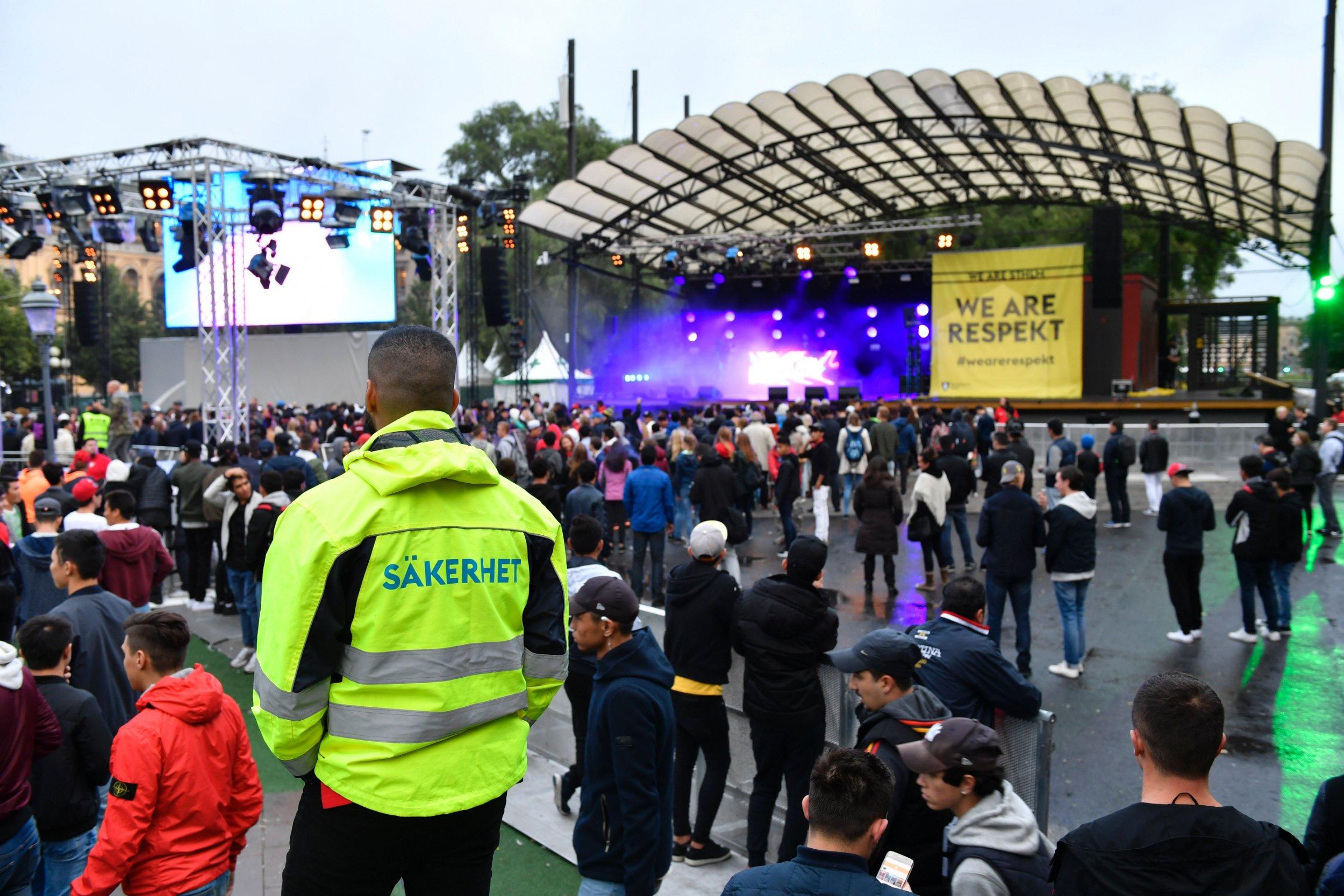 Police investigate 38 sex assault allegations at Swedish music festival