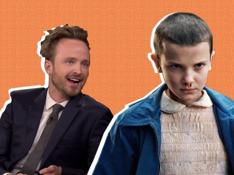 Breaking Bad's Aaron Paul wants to adopt Eleven from Stranger Things