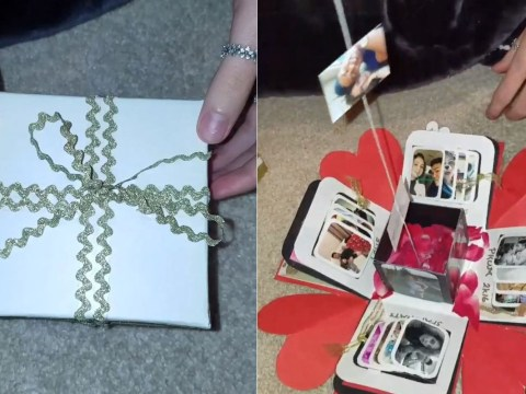 Girl receives most beautiful gift from boyfriend that proves romance isn't dead
