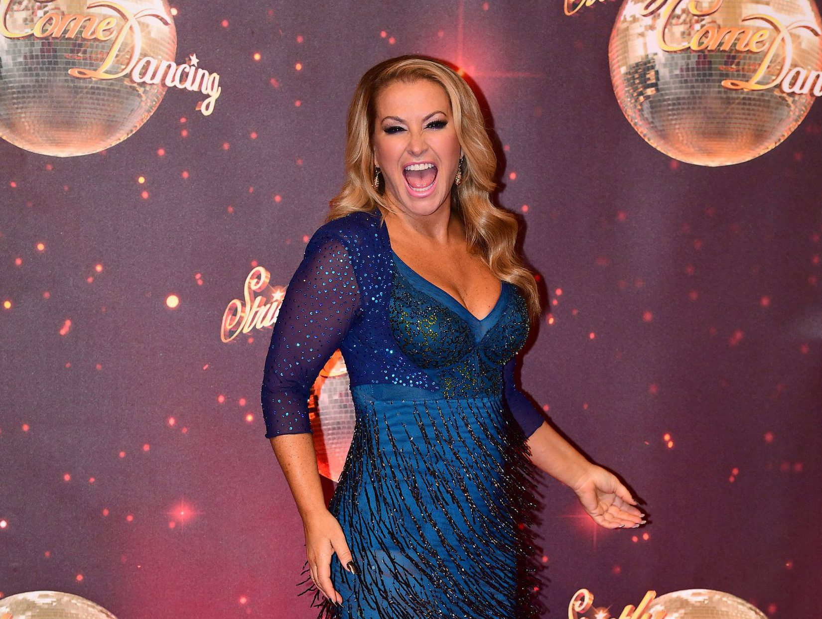 Strictly 2016: Anastacia admits skimpy show costumes could leave her with a tough decision