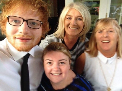 Watch Ed Sheeran and Snow Patrol give up the day jobs to become wedding singers