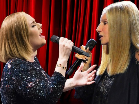 There's a rumour Adele and Barbra Streisand are releasing an album and we hope it's true