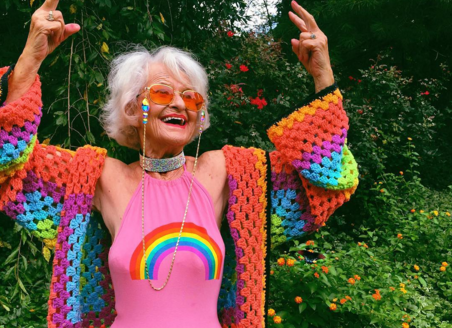 Baddie Winkle has turned 88 and she's still groovier than you'll ever be