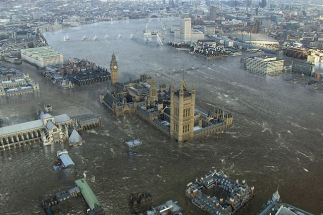 Counter-terror police fear an attack on Thames Barrier as part of plot to leave London flooded