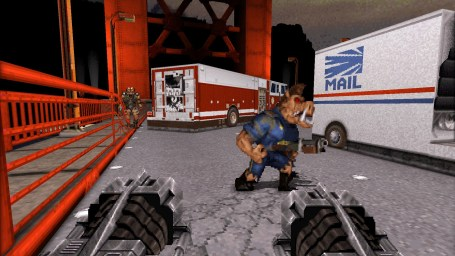 duke nukem 3d 20th anniversary world tour gameplay