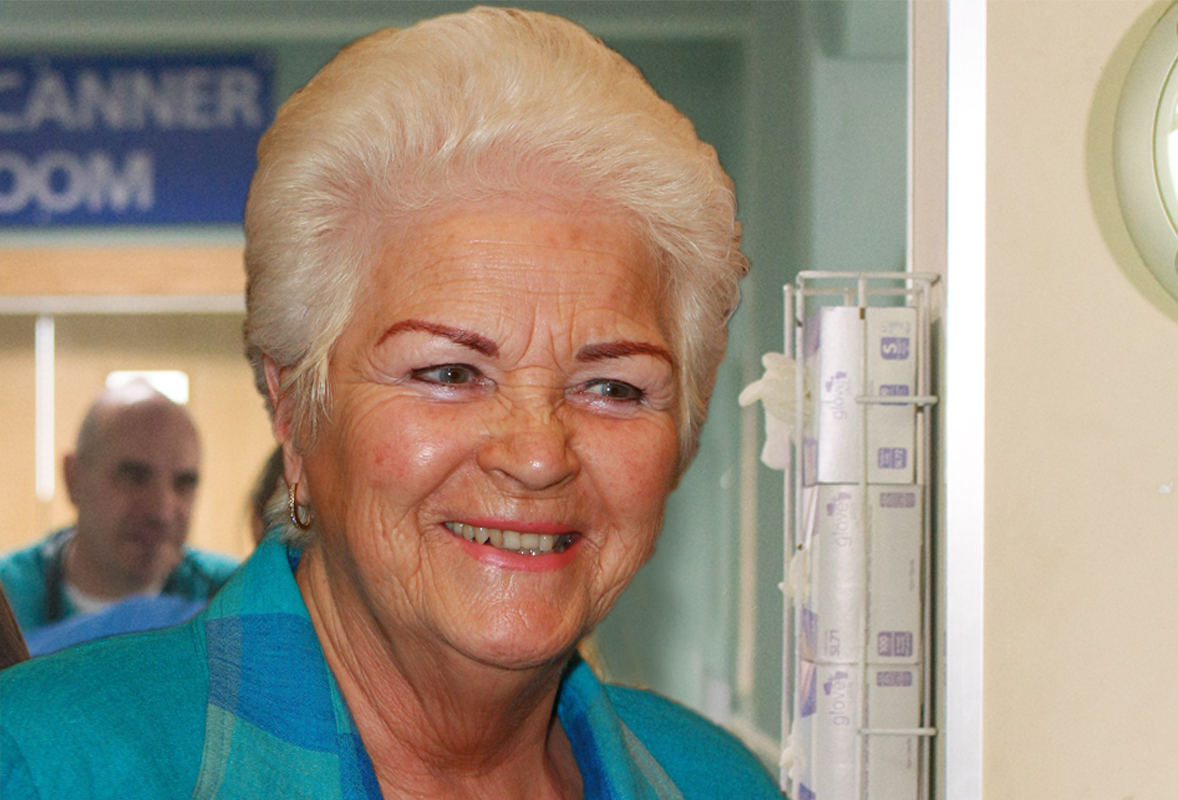 Pam St Clement joins Casualty