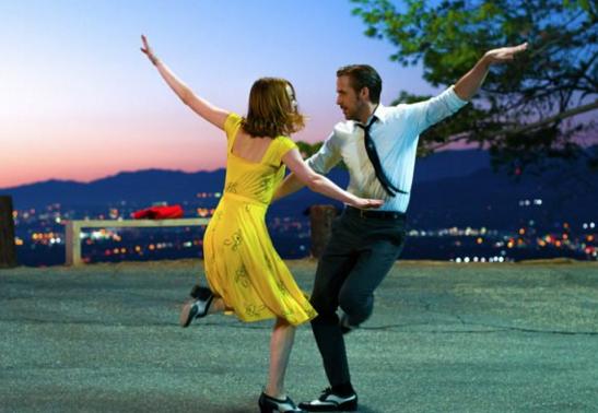 Emma Stone and Ryan Gosling star in La La Land (Picture: Lionsgate)