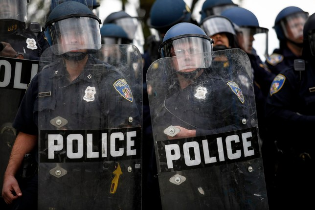 An investigation into the conduct of the BPD was launched in the wake of the death of Freddie Gray (Picture: Getty Images)