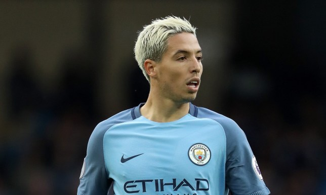 MANCHESTER, ENGLAND - AUGUST 28: Samir Nasri of Manchester City during the Premier League match between Manchester City and West Ham United at Etihad Stadium on August 28, 2016 in Manchester, England. (Photo by Matthew Ashton - AMA/Getty Images)