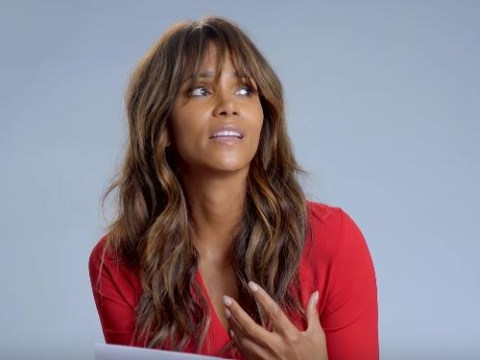 Halle Berry's dramatic reading of Britney Spears' Oops I Did It Again is PERFECT