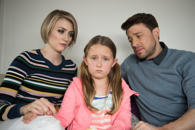 AMY & RYAN ARE WORRIED ABOUT LEAH EMBARGOED 9 AUGUST