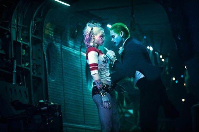 Harley Quinn and the Joker may not have had such a pleasant relationship when Suicide Squad was first shot (Picture: DC/Rolling Stone)