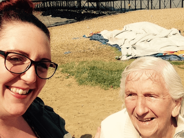 How my Nan's dementia has given me a chance to say thank you