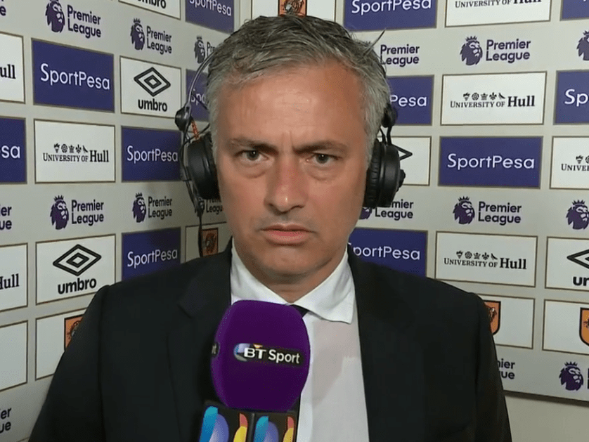 Video: Manchester United manager Jose Mourinho aiming to win Premier League title