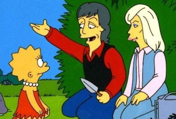 Paul McCartney is the reason Lisa Simpson is a vegetarian