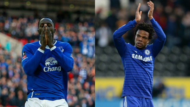 Lukaku (l) and Remy could be on the move