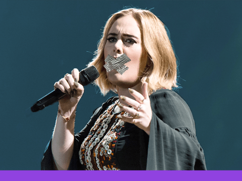 Adele vows to quit swearing after foul-mouthed Glastonbury appearance
