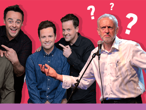 'Man of the people' Jeremy Corbyn has no idea who Ant and Dec are