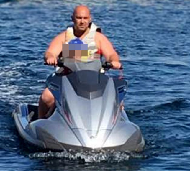 London businessman killed in jet ski horror crash on the French Riviera while son fights for life Picture: Facebook This was legalled andgot the green light by our lawyers We decided to run this image obtained from the following account: https://www.facebook.com/shtutin?fref=ts REF02: https://www.facebook.com/photo.php?fbid=10209829028459247&set=ecnf.1138568405&type=3&theater