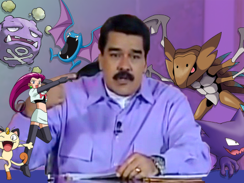 Pokemon Go 'a death culture created by capitalism' says Venezuelan President
